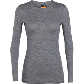 Icebreaker 200 Oasis LS Crew Top Women gritstone heather